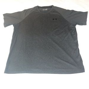 Under Armour Shirts - Under Armour Size Large Gray Gym Workout Shirt